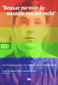 Gert Hekma & Theo van der Meer - Homoseksualiteit en strafrecht in Nederland